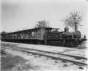 1894 photograph of train