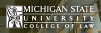Michigan State law school logo