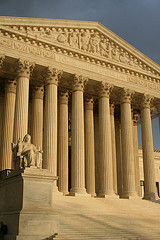 Front of the U.S. Supreme Court building