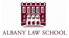 Albany Law School logo depicting school ediface