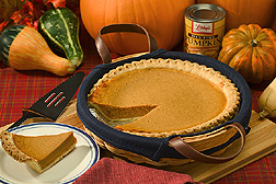 Photo of pumpkin pie by Peggy Greb of the USDA Agricultural Research Service