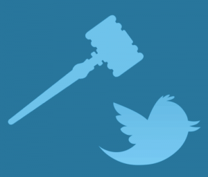 gavel_coming_down_on_twitter_bird_logo_blue_on_teal