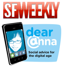 SF Weekly and Dear Anna logos