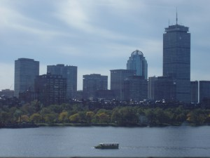 Boston skyline over the Charles River (Photo: EEJ)