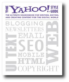 Yahoo Style Guide book cover