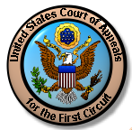 Seal of the First Circuit Court of Appeals