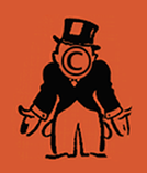 Bankrupt monopoly guy with copyright symbol replacing face