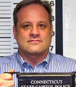 "Mugshot of ""Hal"" Turner from the Connecticut State Capitol Police"