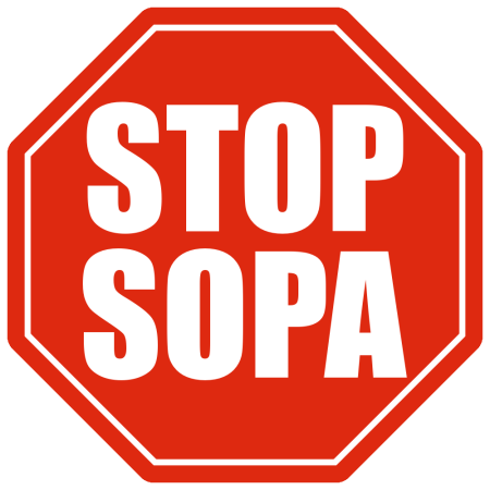 SOPA/PIPA Battle Rages: Tell Congress We Will Not Accept Censorship stop sopa 450