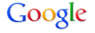 Google&#039;s logo in bright, primary colors