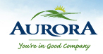 Aurora town logo