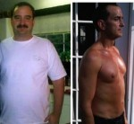 Steve Cooksey's before-and-after photos.